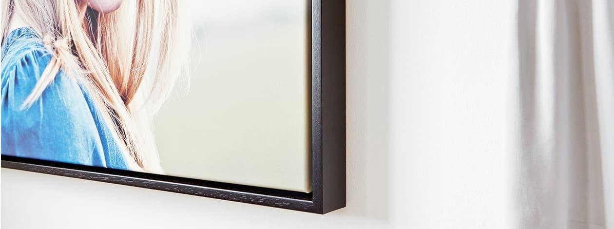 einrahmen foto poster leinwand mit rahmen bei posterxxl. Black Bedroom Furniture Sets. Home Design Ideas