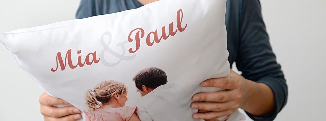 individuelles foto kissen gestalten bei posterxxl. Black Bedroom Furniture Sets. Home Design Ideas