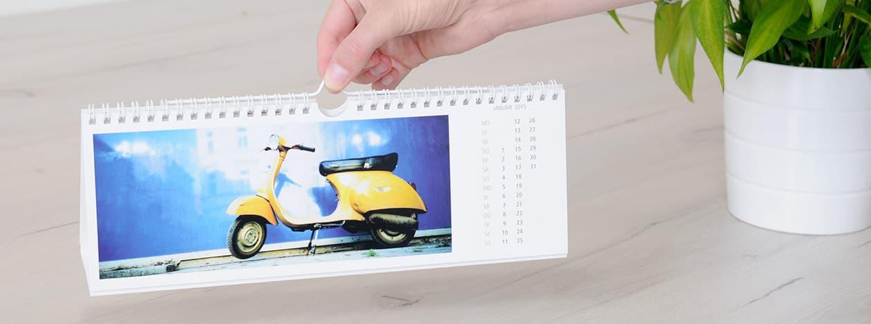 tischkalender mit den eigenen fotos gestalten bei posterxxl. Black Bedroom Furniture Sets. Home Design Ideas